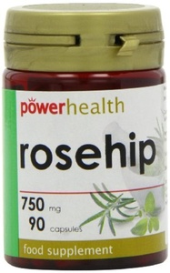 Power Health Rosehip 750mg - Pack of 90 Capsules by Power Health