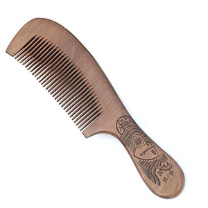 Moustache and Beard Comb Hand Made Hair Grooming Pocket Comb For Men and Women,20*5*1cm by Cola Bear