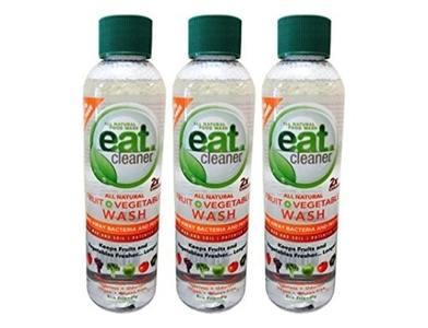 Eat Cleaner Fruit and Veggie Wash 6 Oz. Concentrate/refill, Pack of 3 by Eat Cleaner
