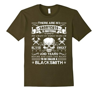Men's Blacksmith Shirt - To Be Called A Blacksmith T shirt Small Olive