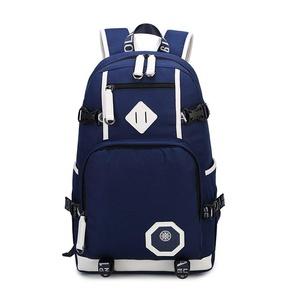 School Backpack Travel Bag Lightweight College book bags for school-Blue