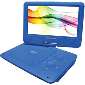 Sylvania Portable 9 Inch Widescreen Multi Media DVD Player Ideal for Travel, Road Trips, Plane Rides, Plus 12V Car Adaptor & Remote Control Included