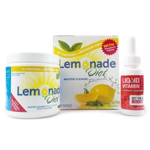 The Original Lemonade Diet Powder Kit | Master Cleanse Weight Loss System | 100% All Natural | Metabolism Boosting Raspberry Ketones by Lemonade Diet
