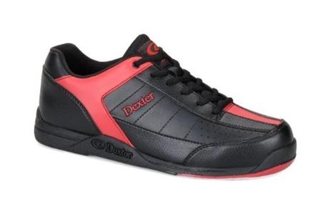 Dexter Men's Ricky III Bowling Shoes - Black/Red, US: 12, UK: 10.5 by Dexter