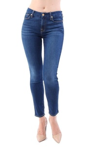 7 For All Mankind Jeans b(air) Duchess the Ankle Skinny - Blue - 29