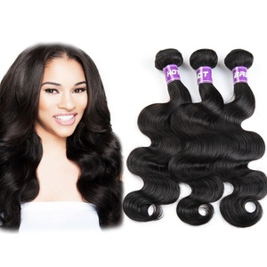 Hotbaby Hair Body Wave Hair Indian Weave 3 Bundles 100% Human Hair Weaving Indian Body Wave Human Hair Extensions
