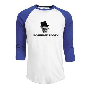 Steampunk Gothic Bachelor Party Men 3/4 Sleeve Raglan Shirt Personalized