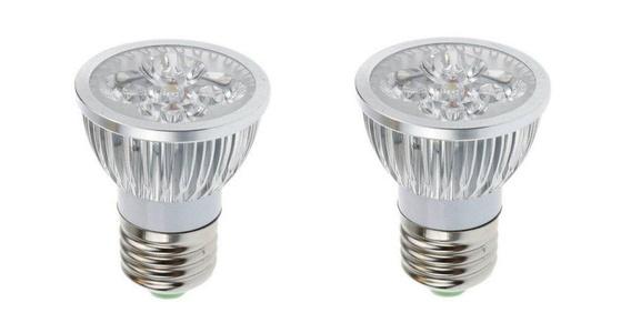 Mansa Lighting, 2 Pack, 4 Watt, Mini Spot Light LED Bulb For Recessed Lighting Applications, Warm White, Non-Dimmable, 350 Lumens