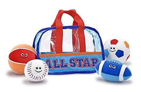 Melissa & Doug Sports Bag Fill & Spill by Melissa