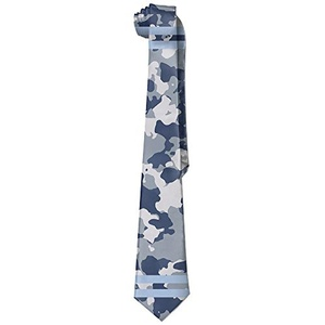 ReBorn Soldier Pattern Color Mens New Business Silk Wide Ties Necktie