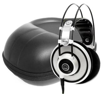 FitSand (TM) Travel Storage Carry Zipper EVA Hard Case Bag Pouch Box Cover for AKG Q 701 Quincy Jones Signature Reference-Class Premium Headphones
