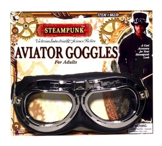 Steampunk Aviator Goggles by Steampunk