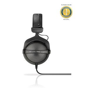 Beyerdynamic DT 770 Pro 32 Ohm Closed Circumaural Studio Headphones with 1 Year Free Extended Warranty
