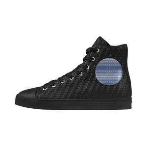 Shoes No.1 Sneakers Fitness Woven Women's Shoes PU Leather Knitted Blue White For Outdoor