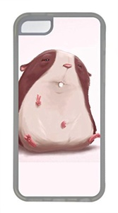 iPhone 5c case, Cute Funny Hamster 2 iPhone 5c Cover, iPhone 5c Cases, Soft Clear iPhone 5c Covers