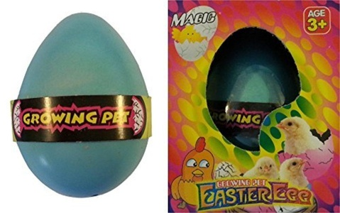 Growing Pet Easter Egg Hatching Chick - Colors Vary by Easter Chicken