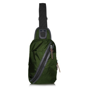Sling Bag Unbalance Backpack Shoulder Chest Bag Crossbody Rucksack Sack Satchel Casual Outdoor Daypacks for Man Hiking running cycling camping School Oxford green, by LC Prime