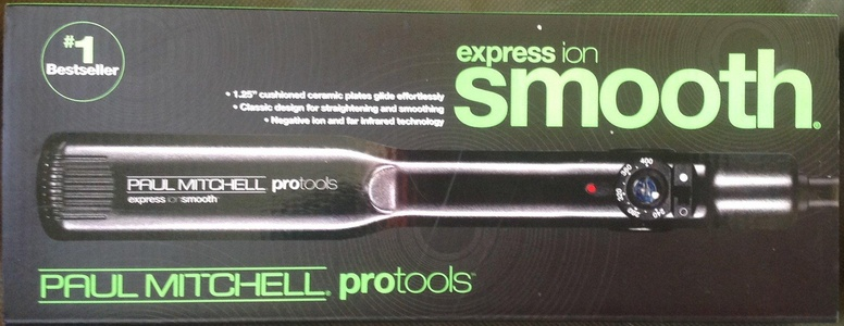 Paul Mitchell Express Ion Smooth 1.25 Hair Straightener Flat Iron, 1-1/4 Inch