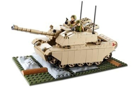 HM Armed Forces Army Challenger II Tank by Construction Toys