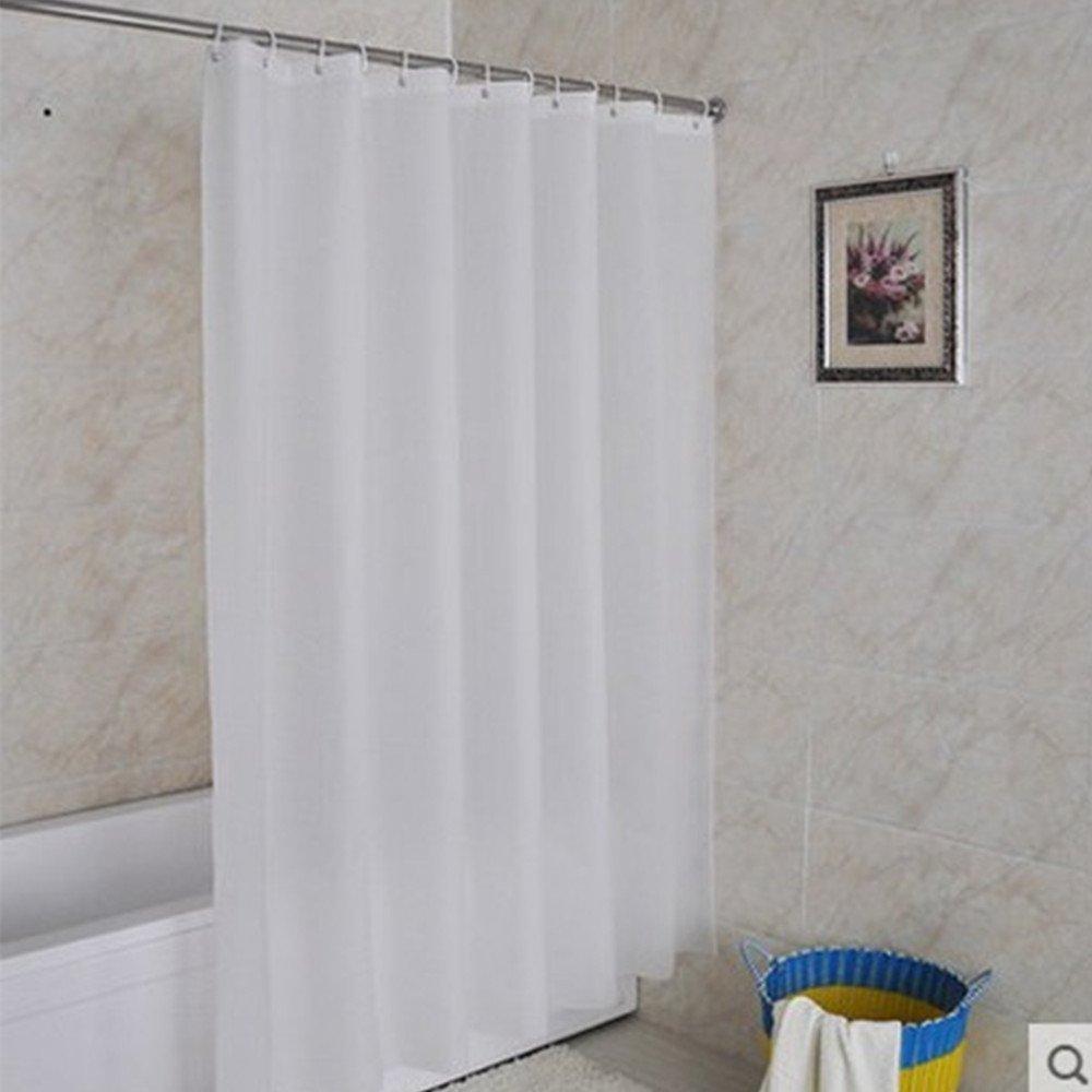 Online Store Mytop Shower CurtainMildew Resistant Fabric Curtain Waterproof Water Repellent Antibacterial47inchx78inch