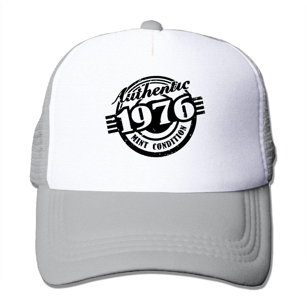 Online Store 40th Birthday Gift Authentic 1976 Designed Trucker Hats