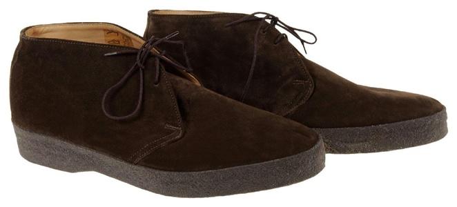 J Crew Men's Sanders Hi-Top Chukka Boots Size 11.5 A9460 Brown Def