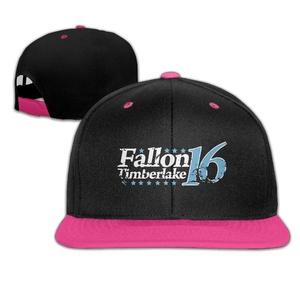 Fashionable Fallon Timberlake 16 Adjustable Baseball Hip-hop Caps Pink