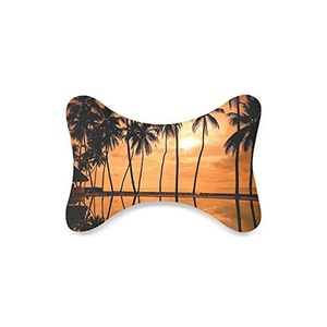 Palm Tree Custom Car-Seat Neck Pillow Travel Pillow Neck Rest Cushion (Only One)