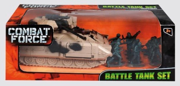 Combat Force Army Battle Play Set Tank, Soldiers, etc - Assorted Designs by DS