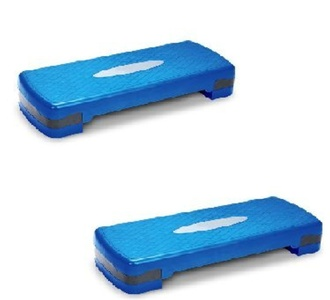 Tone Fitness Aerobic Stepper - Pack of 2