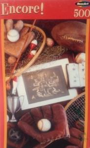 Encore Sports Memories 500pc. Puzzle by Encore