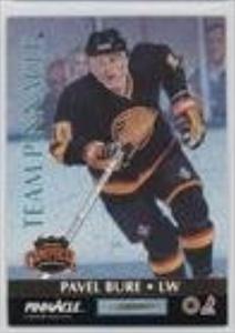 Pavel Bure; Kevin Stevens (Hockey Card) 1992-93 Pinnacle - Team Pinnacle #4