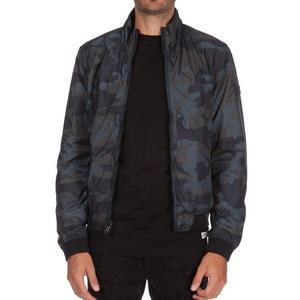 Woolrich Men's Reversible Camou Jacket WO1072 Navy Camou SZ L