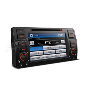 XTRONS 7 Inch HD Digital Touch Screen Car Stereo Radio In-Dash DVD Player with GPS Navigation CANbus Screen Mirroring Function for BMW E46 318 320 325