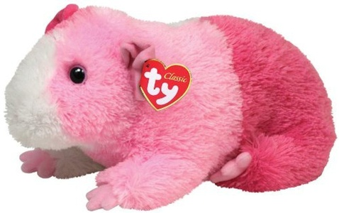 Ty Classic Plush Pinky - Guinea Pig by TY Classic Plush