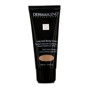 Leg & Body Cover Broad Spectrum SPF 15 (High Color Coverage & Long Lasting Color Wear) - Suntain 100ml/3.4oz by Dermablend