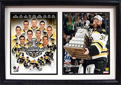 Encore Select 123-35 12 x 18 Double Frame - Boston Bruins Champions