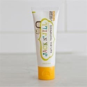 6 Pack of Gluten Free Jack N Jill Banana Toothpaste 50 g by JACK AND JILL KIDS