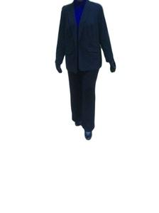 Denim 24/7 Plus Size Jacket for Women Blazer Black,22W,26W,30W,32W (26W)
