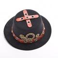 BLESSUME Steampunk Hat Hair Pin Black