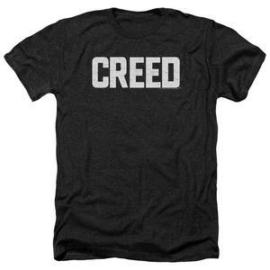 Creed Cracked Logo Mens Heather Shirt