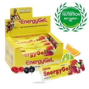 High5 Energy Gel Mixed Box 20 Sachets Sports Nutrition - Yellow by High 5