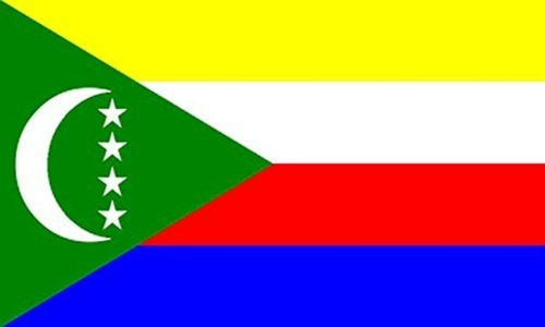 Comoros 3' X 2' 3ft x 2ft Flag With Eyelets Premium Quality by 3Ft x 2Ft Flag
