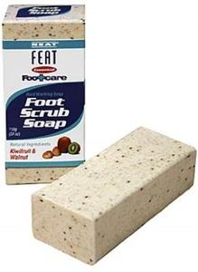 Neat Feat Foot Soap Scrub Kiwifruit And Walnut 150g by Neat Feet