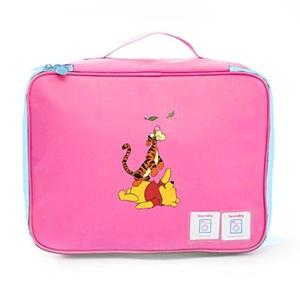 Aoapp Cartoon Cute Bear Winnie Oxford Portable Storage Bags Travelling Cosmetics Organize Bag