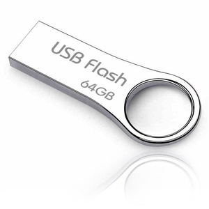 Stainless steel 64GB USB 2.0 Flash Drive (PU/5001/64) - Silver