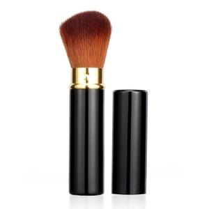 Rosabeauty Retractable Makeup Brush Adjustable Foundation Powder Cream Blush Cosmetic Face Kabuki Brush