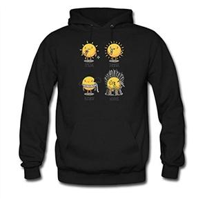 The Seasons For men Printed Sweatshirt Pullover Hoody