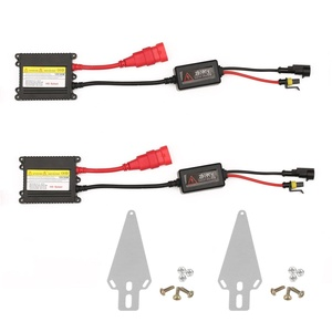 Fontic 2PC Set Universal DC 12V 35W Slim Ballast HID Replacement Conversion Kit for Xenon Light Lamp High Intensity Discharge Light For H1 H3 H4 H7 H8 H9 H1 H11 H13 HB1 HB3 HB4 HB5