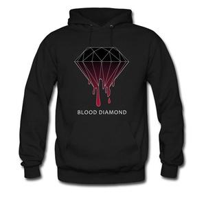 Blood Diamond For men Printed Sweatshirt Pullover Hoody